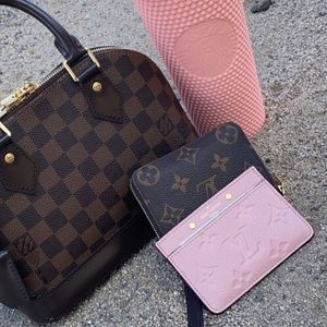 Louis Vuitton empreinte card holder